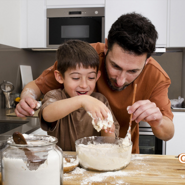 Os benefícios da cozinha afetiva para pais e filhos